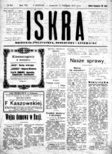 Iskra. Dziennik polityczny, społeczny i literacki, 1917, R. 8, nr 265