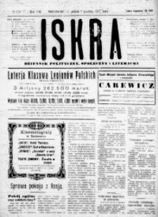Iskra. Dziennik polityczny, społeczny i literacki, 1917, R. 8, nr 278