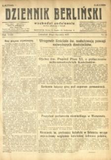 Dziennik Berliński, 1927, R. 31, nr 15