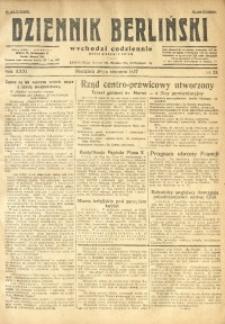 Dziennik Berliński, 1927, R. 31, nr 24