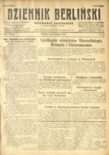 Dziennik Berliński, 1927, R. 31, nr 33