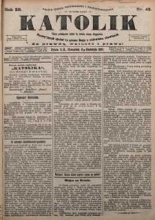 Katolik, 1897, R. 30, nr 42