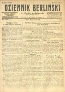 Dziennik Berliński, 1927, R. 31, nr 45