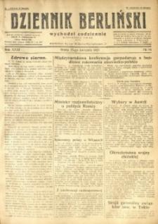 Dziennik Berliński, 1927, R. 31, nr 94