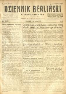 Dziennik Berliński, 1927, R. 31, nr 98