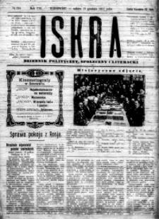 Iskra. Dziennik polityczny, społeczny i literacki, 1917, R. 8, nr 294