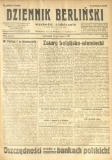 Dziennik Berliński, 1927, R. 31, nr 163