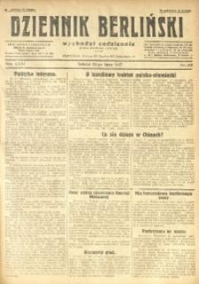 Dziennik Berliński, 1927, R. 31, nr 165