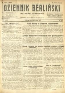 Dziennik Berliński, 1927, R. 31, nr 183