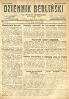 Dziennik Berliński, 1927, R. 31, nr 191