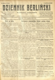 Dziennik Berliński, 1927, R. 31, nr 234