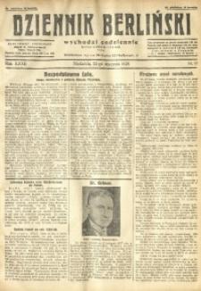 Dziennik Berliński, 1928, R. 32, nr 18