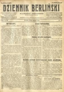 Dziennik Berliński, 1928, R. 32, nr 48