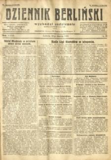 Dziennik Berliński, 1928, R. 32, nr 58
