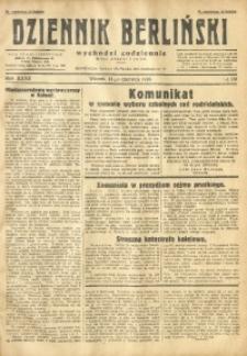 Dziennik Berliński, 1928, R. 32, nr 133