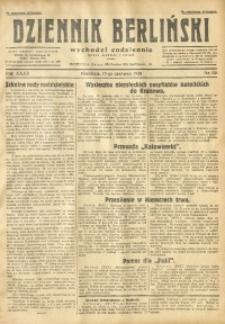 Dziennik Berliński, 1928, R. 32, nr 138
