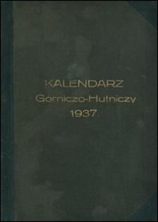 Kalendarz górniczo-hutniczy na rok zwyczajny 1937 : wydawnictwa rok VI