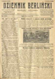 Dziennik Berliński, 1928, R. 32, nr 165