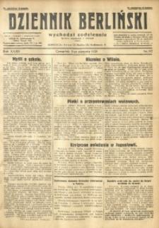 Dziennik Berliński, 1928, R. 32, nr 182