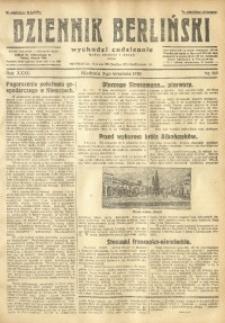 Dziennik Berliński, 1928, R. 32, nr 203