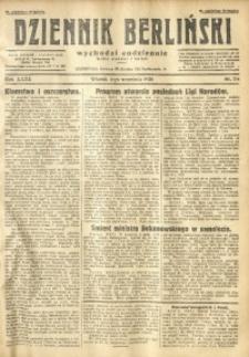 Dziennik Berliński, 1928, R. 32, nr 204