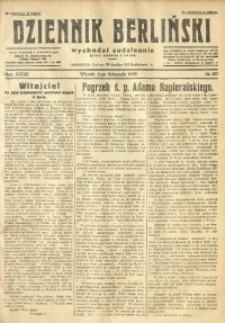Dziennik Berliński, 1928, R. 32, nr 257