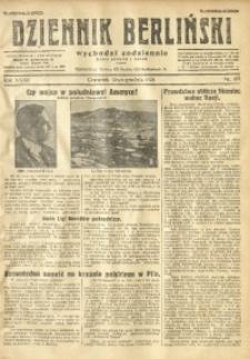 Dziennik Berliński, 1928, R. 32, nr 287