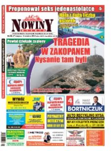 Nowiny Nyskie 2019, nr 35.