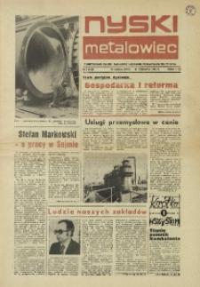Nyski Metalowiec 1982, nr 5 (423).