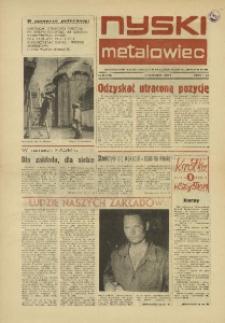 Nyski Metalowiec 1982, nr 10 (428).