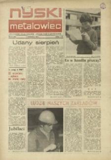 Nyski Metalowiec 1983, nr 17 (452).