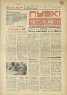 Nyski Metalowiec 1984, nr 15 (474).
