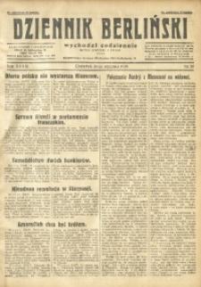 Dziennik Berliński, 1929, R. 33, nr 26