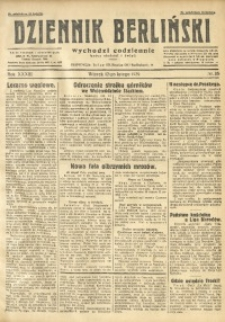 Dziennik Berliński, 1929, R. 33, nr 35