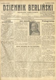 Dziennik Berliński, 1929, R. 33, nr 68