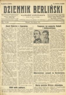 Dziennik Berliński, 1929, R. 33, nr 162