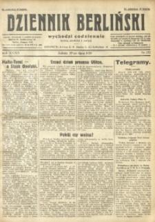 Dziennik Berliński, 1929, R. 33, nr 172