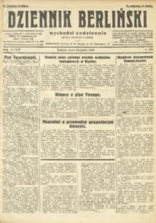 Dziennik Berliński, 1929, R. 33, nr 178