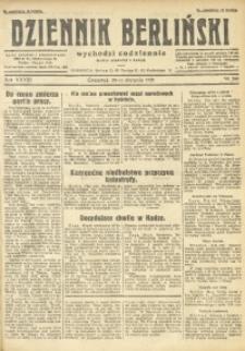 Dziennik Berliński, 1929, R. 33, nr 200