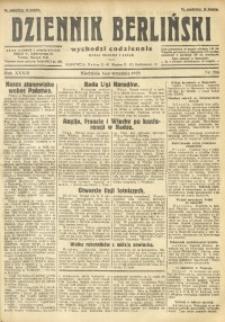 Dziennik Berliński, 1929, R. 33, nr 203
