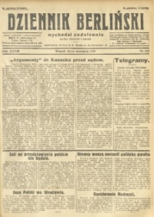 Dziennik Berliński, 1929, R. 33, nr 222