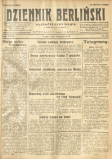 Dziennik Berliński, 1929, R. 33, nr 266