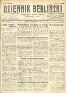 Dziennik Berliński, 1929, R. 33, nr 279