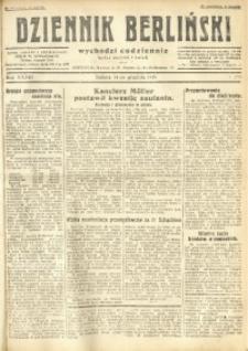 Dziennik Berliński, 1929, R. 33, nr 290
