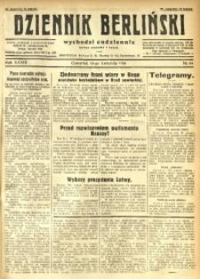 Dziennik Berliński, 1930, R. 34, nr 84