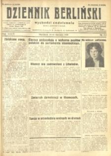 Dziennik Berliński, 1930, R. 34, nr 184