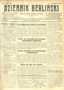 Dziennik Berliński, 1930, R. 34, nr 199