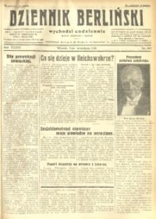 Dziennik Berliński, 1930, R. 34, nr 203