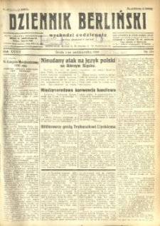 Dziennik Berliński, 1930, R. 34, nr 228