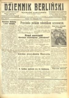 Dziennik Berliński, 1930, R. 34, nr 259